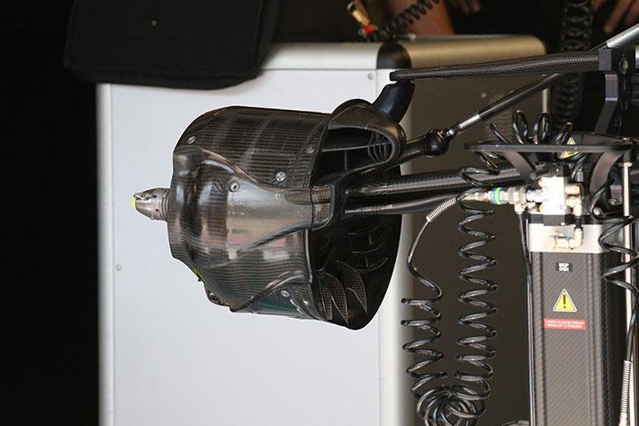 F1技術解説:ハンガリーGPでタイヤの摩耗以上にブレーキ加熱に苦しんでいたメルセデス