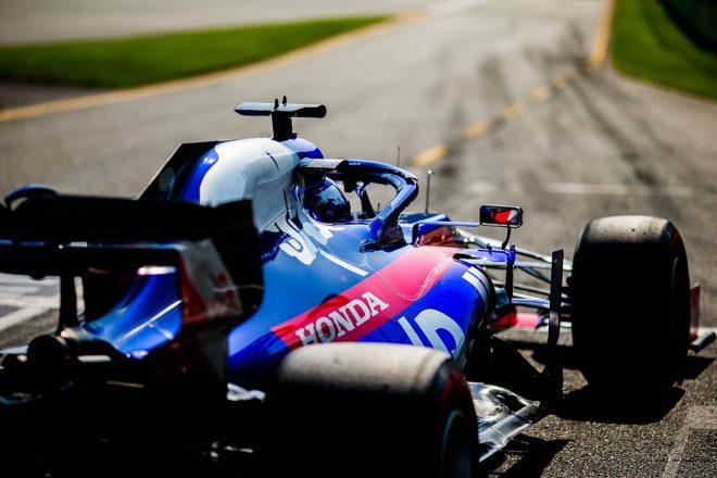 開幕戦オーストラリアGPで、F1復帰戦でポイントを獲得したダニール・クビアト