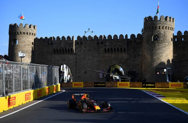 2019年F1第4戦アゼルバイジャンGPで4位入賞のマックス・フェルスタッペン