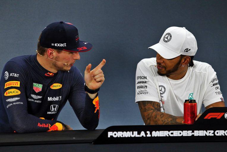 F1 | フェルスタッペン、ハミルトンへの敬意を示すも「今のF1には同等の結果を出せるドライバーが3、4人いる」
