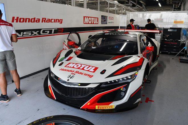 ホンダ・チーム・モチュールの30号車ホンダNSX GT3