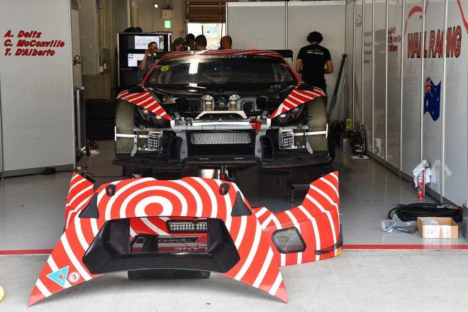 ウォール・レーシングのランボルギーニ・ウラカンGT3
