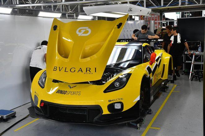 キャラウェイ・コンペティション・ウィズ・ビンゴレーシングのキャラウェイ・コルベットC7 GT3-R
