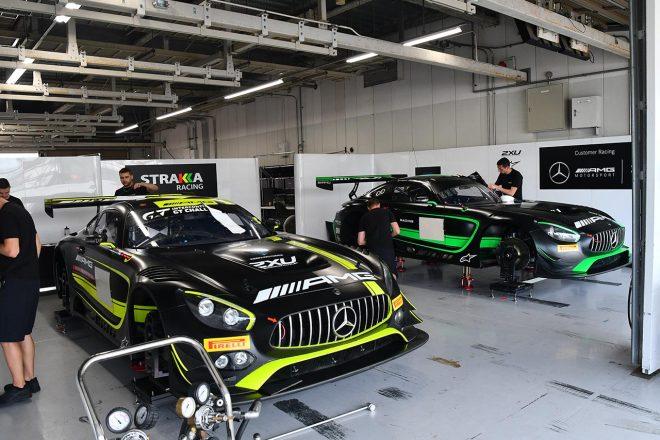 メルセデスAMG・チーム・ストラッカ・レーシングのメルセデスAMG GT3