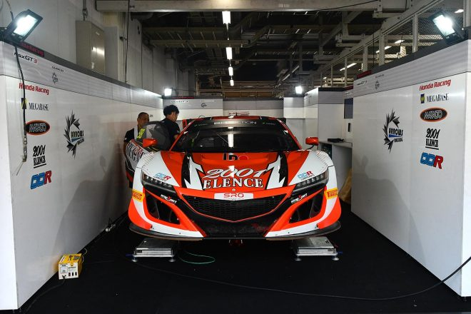 アロウズ・レーシングのホンダNSX GT3