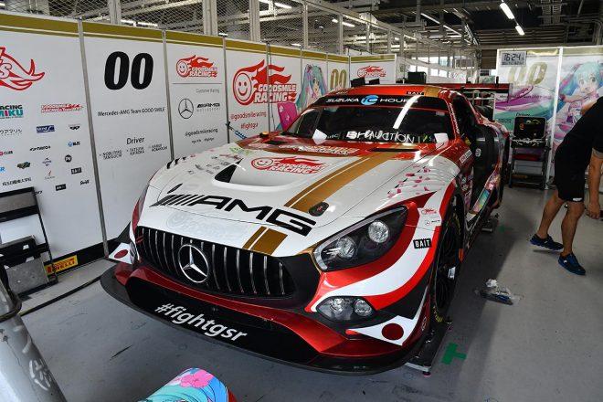 メルセデスAMG・チーム・グッドスマイルのメルセデスAMG GT3