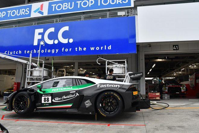 JLOCの88号車ランボルギーニ・ウラカンGT3エボ