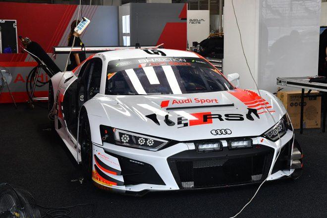 アウディスポーツ・チーム・アブソリュート・レーシングのアウディR8 LMS