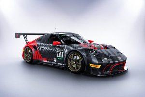 ル・マン/WEC | 鈴鹿10時間:チーム代表欠席のEBMがポルシェ911 GT3 Rの新カラーリングを公開