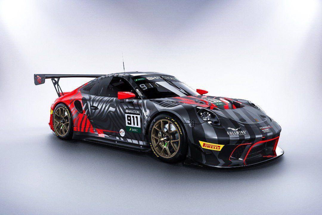 鈴鹿10時間:チーム代表欠席のEBMがポルシェ911 GT3 Rの新カラーリングを公開