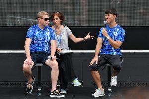 スーパーGT | 鈴鹿10時間:石浦宏明、憧れのミカ・ハッキネンと出会う「チームの和を大事にしている印象です」