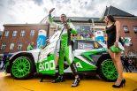 ラリー/WRC | ERC第6戦:地元戦に必勝体制で臨んだシュコダ快勝。総合2位争いは0.3秒差の激戦