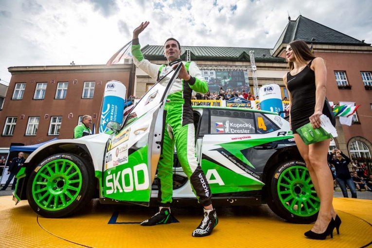 ラリー/WRC   ERC第6戦:地元戦に必勝体制で臨んだシュコダ快勝。総合2位争いは0.3秒差の激戦