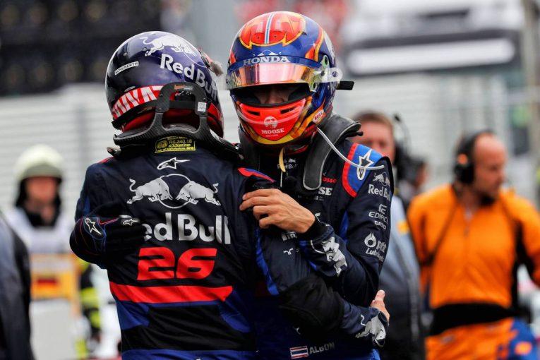 F1 | ホンダ本橋CEが前半戦を総括:ベストレースは3位表彰台のF1ドイツGP。「すべてが噛み合って出せた結果」