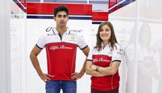 F1 | コレア(左)とカルデロン(右)