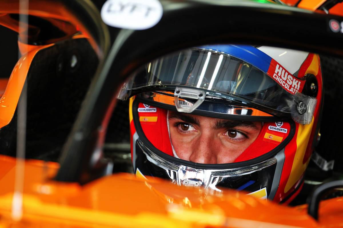 2019年F1第10戦イギリス人GP カルロス・サインツJr.(マクラーレン)
