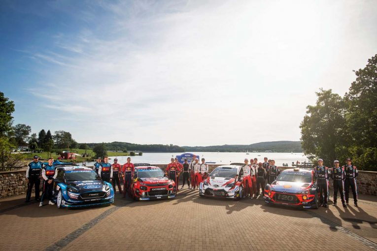 ラリー/WRC | 【順位結果】2019年WRC第10戦ドイツ SS1後