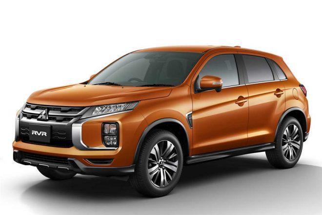 ミツビシRVR G(4WD) カラー:サンシャインオレンジメタリック