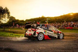 ラリー/WRC   WRCドイツ:サーキットレースのような「普通ではない1日」を、好調タナクが首位で終える