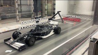 F1 | 2021年型マシンの空力デザインを模索するF1。デザインコンセプトが確認できる風洞実験映像を初公開
