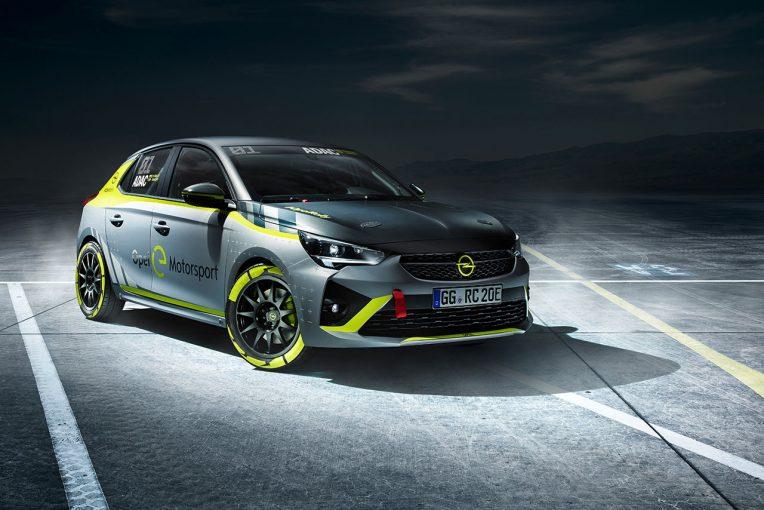 ラリー/WRC   オペル、世界初をうたう電動ラリー選手権『ADACオペルeラリー・カップ』を2020年夏にスタートへ
