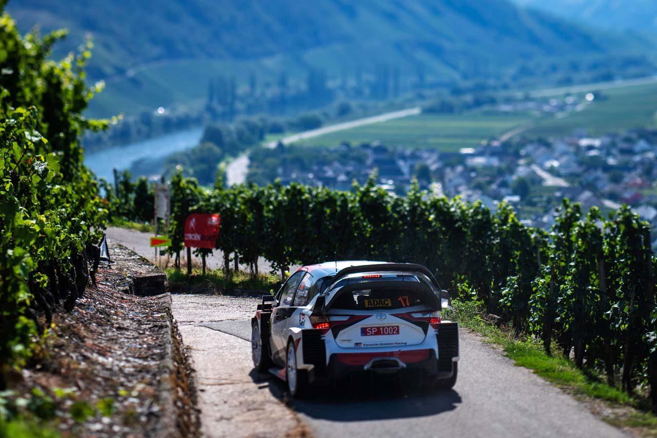 【順位結果】2019年WRC第10戦ドイツ SS7後