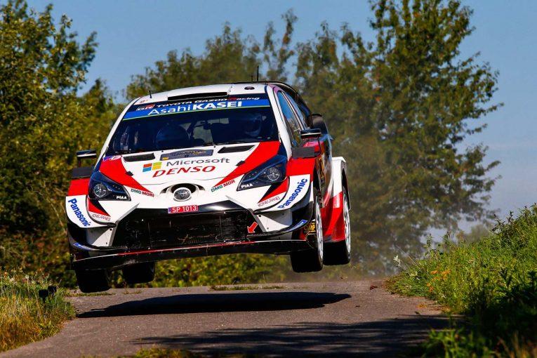 ラリー/WRC | WRCドイツ:タナクとヌービルが僅差で首位争う。王者オジエも3番手から虎視眈々