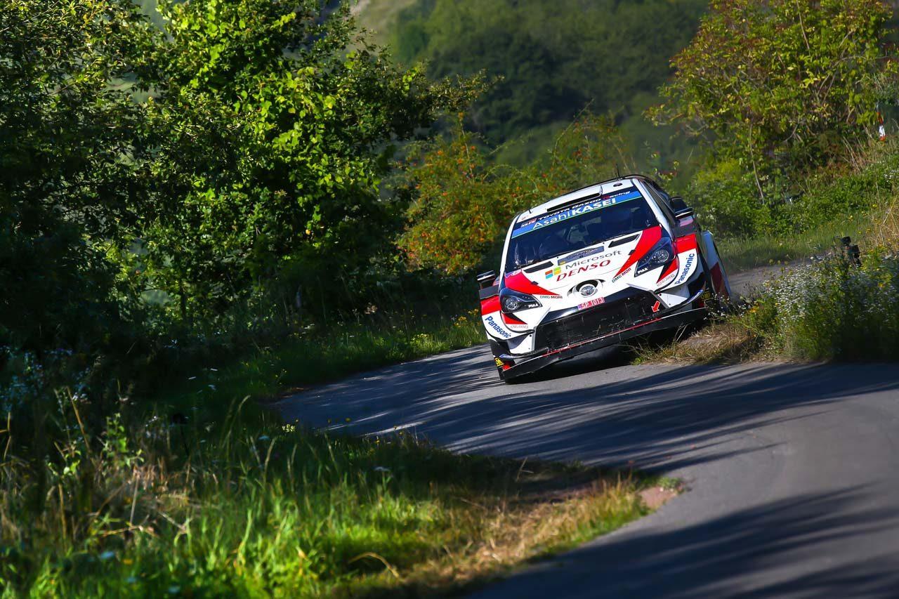 WRC:トヨタ、タナクが4SSを制し首位を堅持。マキネン「非常に順調だが、明日は厳しい戦いになる ...