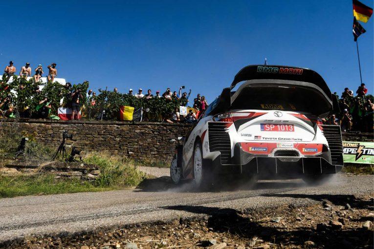 ラリー/WRC   WRC:トヨタ、タナクが4SSを制し首位を堅持。マキネン「非常に順調だが、明日は厳しい戦いになる」