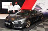 クルマ | アウディ、鈴鹿10時間の会場で記念限定モデル『R8 Decennium』と『RS 5 Sportback』を発表