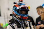 35号車ニッサンGT-RニスモGT3をドライブする松田次生