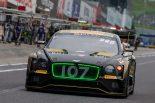ベントレー・チーム・Mスポーツの107号車ベントレー・コンチネンタルGT3