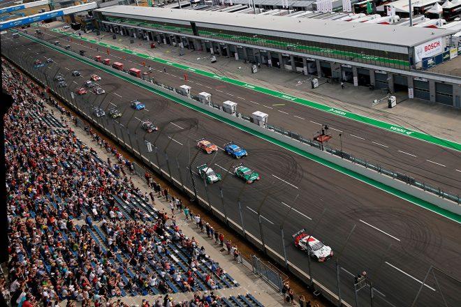 DTM第7戦ラウジッツリンク・レース1スタート