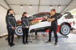 ラリー/WRC | SKE48卒業生梅本まどか、海外ラリー参戦をにらみWRCドイツ訪問。勝田貴元からレクチャーも