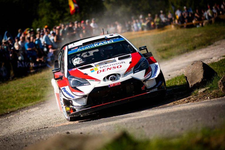 ラリー/WRC | WRCドイツ:3強の内2台にアクシデント。独走タナクにミーク、ラトバラが続きトヨタが1-2-3