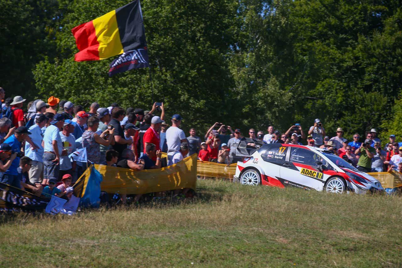 WRCドイツ:トヨタ、最終日を前に1-2-3形成。ラトバラ「マキネンから電話でアドバイスを貰った」