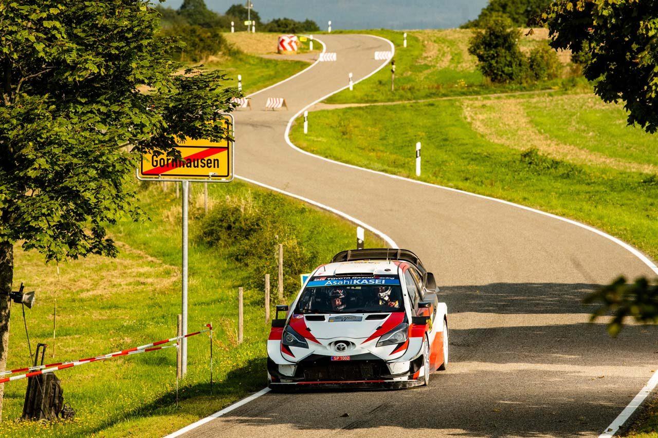 WRCドイツ:トヨタ勢が表彰台独占! タナク3連覇、初参戦の勝田貴元も完走果たす