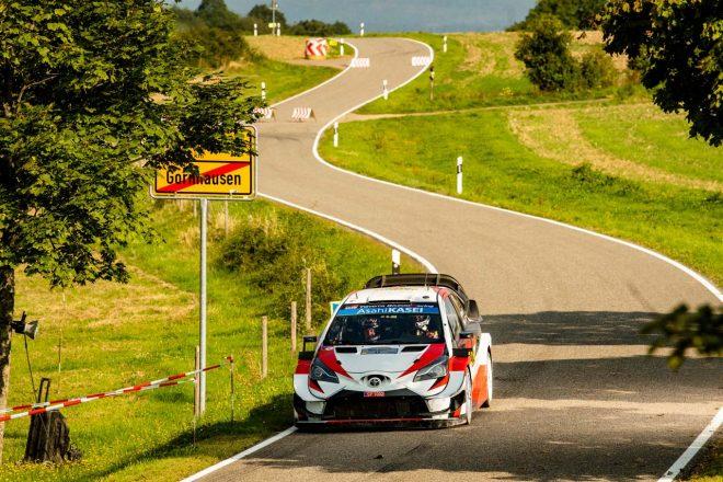 WRCトップクラスに初参戦し全ステージを完走、総合10位でラリーを終えた勝田貴元(トヨタ・ヤリスWRC)