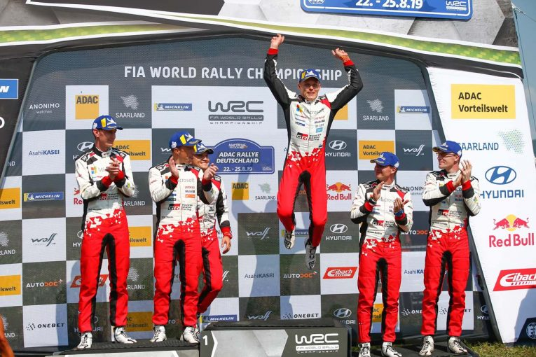 ラリー/WRC | 【順位結果】2019年WRC第10戦ドイツ 総合