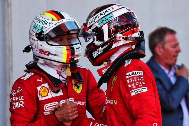2019年F1第9戦オーストリアGP セバスチャン・ベッテル、シャルル・ルクレール