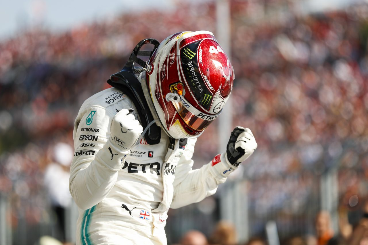 2019年F1ハンガリーGPでのハミルトン