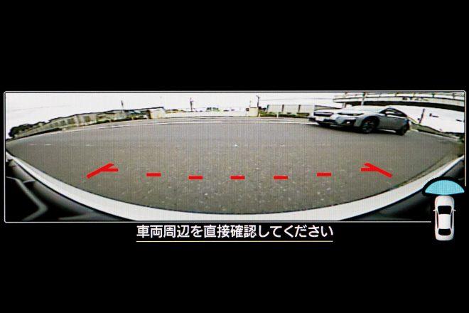 フロントビューモニター(モニター画面)