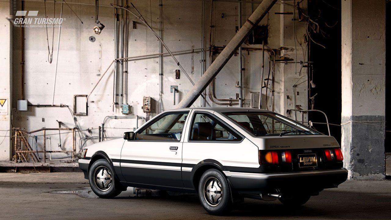 トヨタカローラレビン3door 1600GT APEX (AE86) '83 (N100)