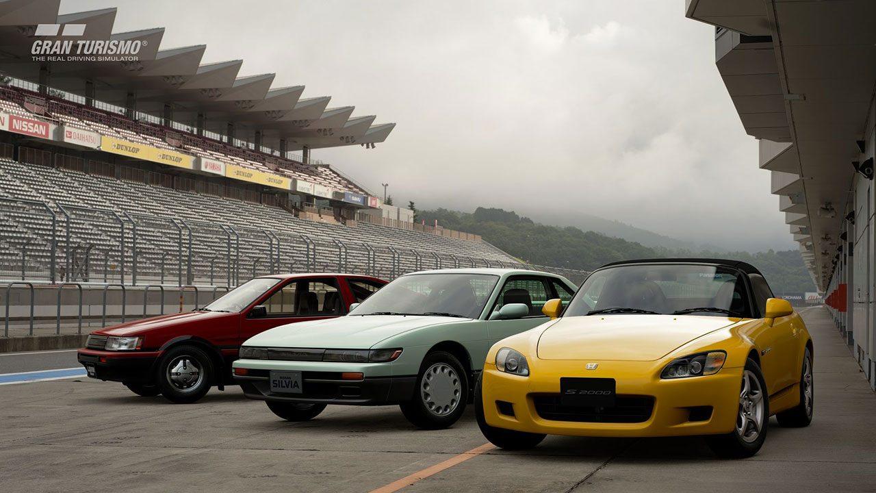 グランツーリスモSPORTに新規収録される日本車たち