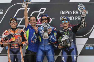 MotoGP   劇的オーバーテイクのリンス「終盤に大きなミスをした」/MotoGP第12戦イギリスGP 決勝トップ3コメント