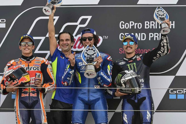 MotoGP | 劇的オーバーテイクのリンス「終盤に大きなミスをした」/MotoGP第12戦イギリスGP 決勝トップ3コメント