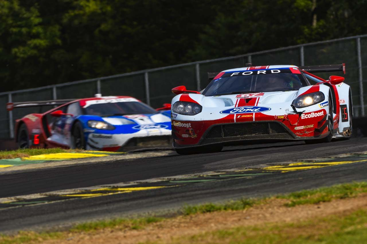 IMSA第10戦:911号車ポルシェが同門対決制す。GTDはル・マン失格ペアが逆転優勝