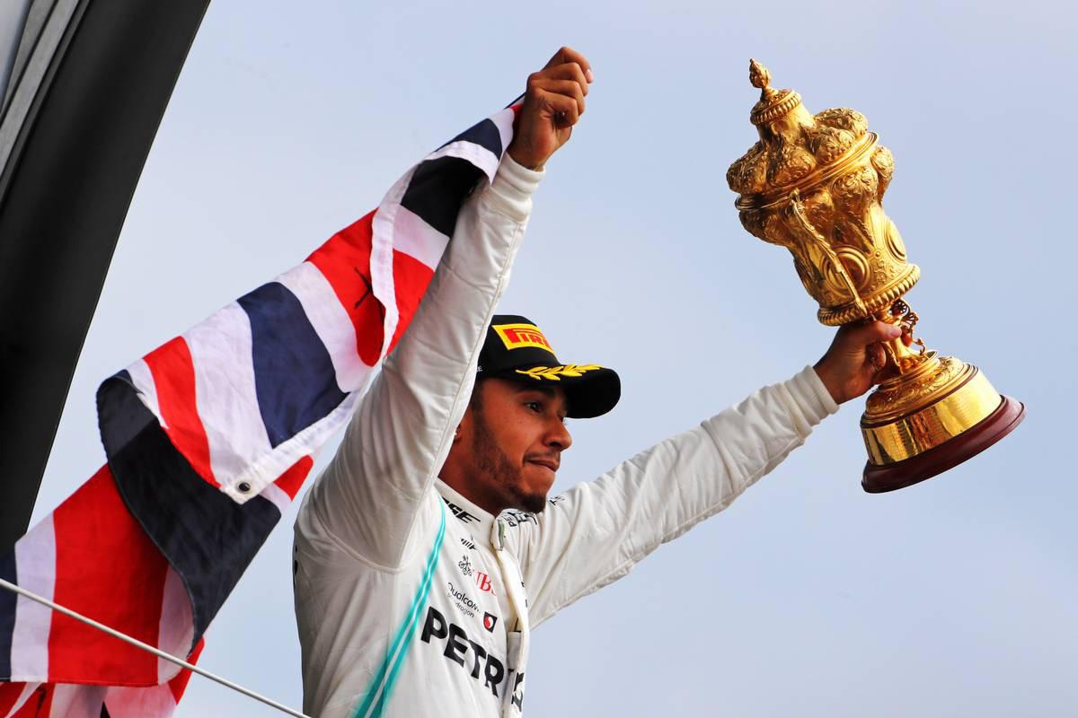 2019年F1第10戦イギリスGP ルイス・ハミルトン
