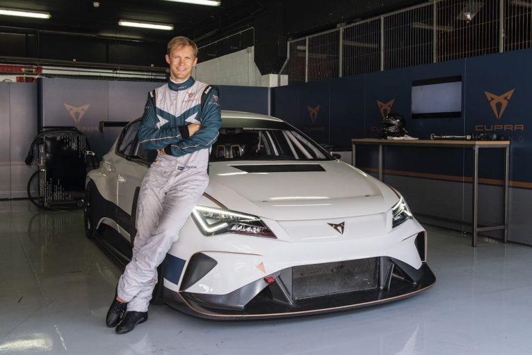 海外レース他   元アウディ所属のマティアス・エクストローム、クプラe-Racerの公式アンバサダーに就任
