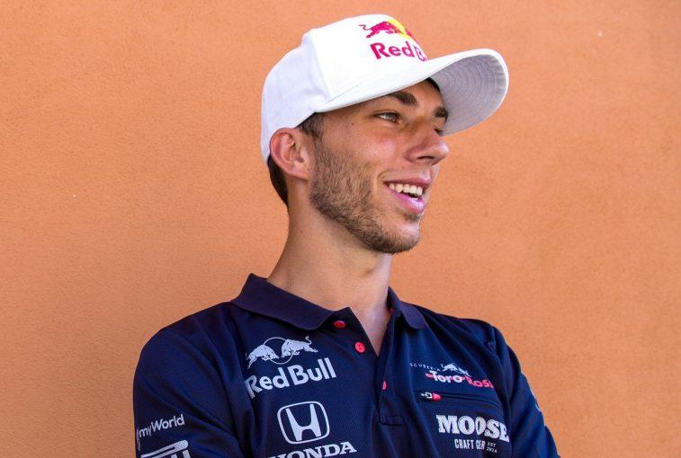F1   トロロッソ・ホンダF1に復帰したガスリー「もう気持ちは前を向いている。後半戦で好成績を挙げるため態勢を整えた」